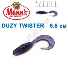 Силикон Manns Twister JB-037-55мм (20шт)