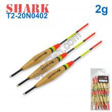 Поплавок Shark Тополь T2-20N0402 (20шт)