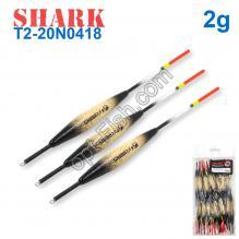 Поплавок Shark Тополь T2-20N0418 (20шт)