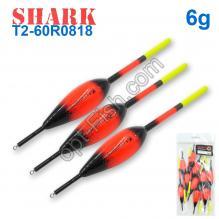 Поплавок Shark Тополь T2-60R0818 (10шт)