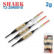Поплавок Shark Тополь T2-20N0818 (20шт)