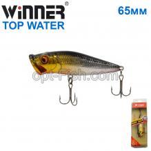 Воблер Ttebo P-RE65P.P 65mm 8g TOP WATER 107# *