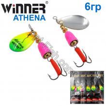 Блесна Winner вертушка WP-003 ATHENA 6g 005# *