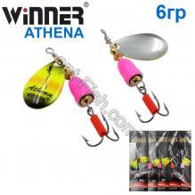 Блесна Winner вертушка WP-003 ATHENA 6g 022# *