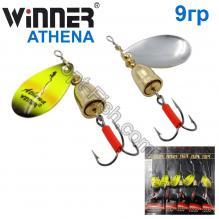 Блесна Winner вертушка WP-003 ATHENA 9g 022# *