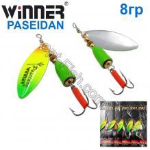 Блесна Winner вертушка WP-007 PASEIDAN 8g 005# *