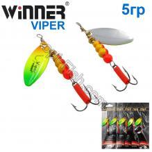 Блесна Winner вертушка WP-016 VIPER 5g 005# *
