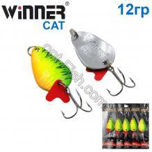 Блесна Winner колебалка TBZ-008 CAT 12g 031# *