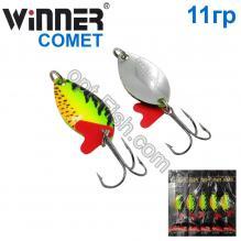 Блесна Winner колебалка W-015 COMET 11g 031# *