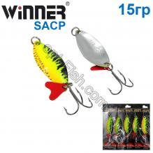 Блесна Winner колебалка W-029 SACP 15g 031# *