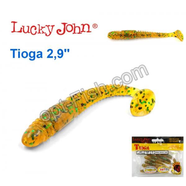 ловля на силиконовые приманки lucky john