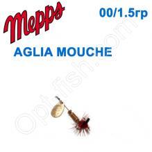Блесна  Mepps AGLIA MOUCHE zlota/RED fly  00/1,5g