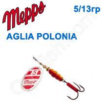 Блесна  Mepps AGLIA POLONIA srebrna silver 5/13g
