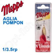 Блесна  Mepps AGLIA POMPON zlota gold 1/3,5g