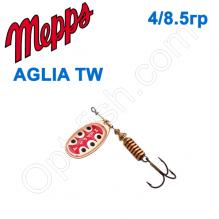 Блесна  Mepps AGLIA TW  miedz copper 4/8,5g
