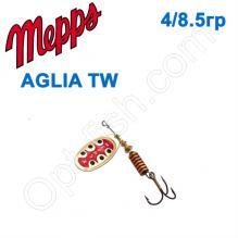 Блесна  Mepps AGLIA TW  zlota gold 4/8,5g