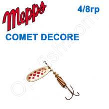 Блесна  Mepps COMET DECORE zloty/czerwone kropki  4/8g