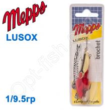 Блесна  Mepps LUSOX zloty gold 1/9,5g