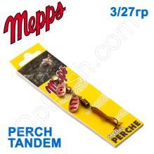 Блесна  Mepps PERCH TANDEM miedz copper/red