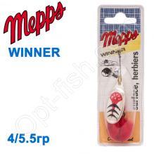 Блесна  Mepps WINNER srebrny silver 4/5.5g