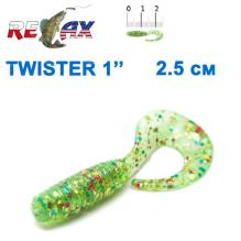 Силикон Relax Twister 1' col.TS 141 (100шт)