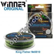 Леска Winner Original Power King Fisher №0810 100м 0,18мм