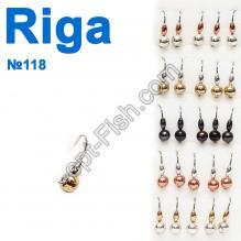Мормышка вольф. Riga 148042 (25шт) №118