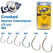 Крючок Goss Crooked Саммоподсек. (12шт) 11046 N № 4