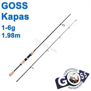 Спиннинговое удилище шт2 Goss Kapas A03-198 1-6g 1,98м * оптом недорого в Украине