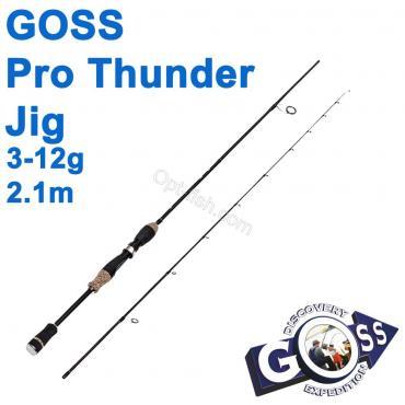 Спиннинговое удилище шт2 Goss Pro Thunder Jig A08-210 3-12g 2,1м * оптом недорого в Украине