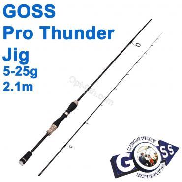 Спиннинговое удилище шт2 Goss Pro Thunder Jig A08-198 5-25g 2,1м * оптом недорого в Украине