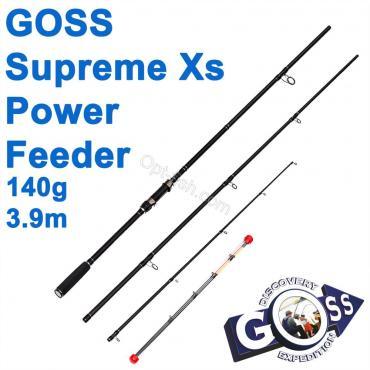 Фидерное удилище шт3 Goss Supreme Xs Power Feeder A14-390 140g 3,9м * оптом недорого в Украине