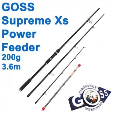 Фидерное удилище шт3 Goss Supreme Xs Power Feeder A14-360 200g 3,6м * оптом недорого в Украине