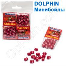 Минибойлы Dolphin 6х10 мм клубника (10шт)