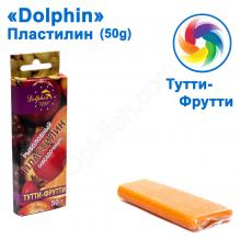 Пластилин Dolphin 50g Тутти-фрутти