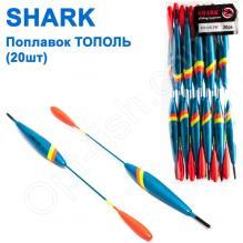 Поплавок Shark Тополь T2-40U1412W (20шт)
