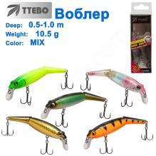 Воблер Ttebo M-WAK90 (0,5-1m) 10,5g MIX