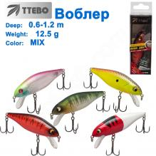 Воблер Ttebo S-CUT80 (0,6-1,2m) 12,5g MIX