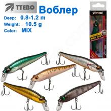Воблер Ttebo M-SWD90 (0,8-1,2m) 10,5g MIX