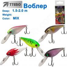 Воблер Ttebo S-FIG55 (1,5-2m) MIX
