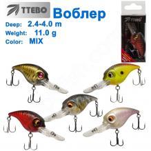 Воблер Ttebo С-DV52 (2,4-4m) 11g MIX