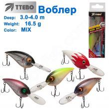 Воблер Ttebo C-AND65 (3-4m) 16,5g MIX