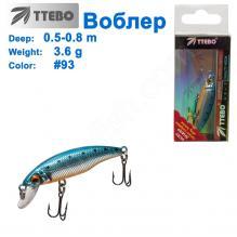 Воблер Ttebo M-RUF50 (0,5-0,8m) 3,6g #93