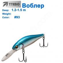 Воблер Ttebo S-GN70D (1,2-1,5m) #93