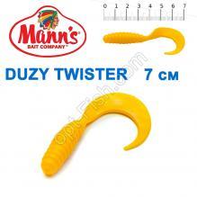Силикон Manns Duzy Twister Y-038-70мм (20шт)