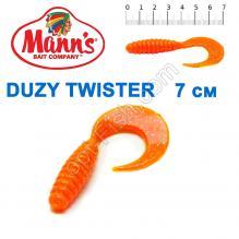 Силикон Manns Duzy Twister MFOR-038-70мм (20шт)