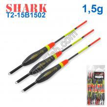 Поплавок Shark Тополь T2-15B1502 (20шт)