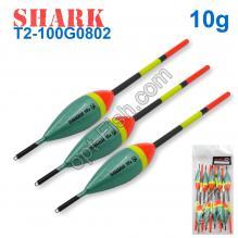 Поплавок Shark Тополь T2-100G0802 (10шт)