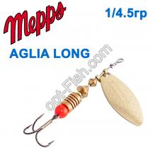 Блесна Mepps Aglia long zota-gold 1/4,5g