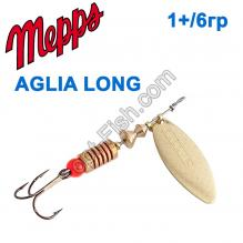 Блесна Mepps Aglia long zota-gold 1+/6g